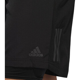 "adidas Own The Run 7"" 2en1 Shorts Hombre, black"
